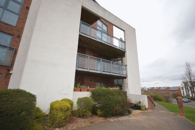 Thumbnail Flat for sale in Clips Moor, Lawley Village, Telford