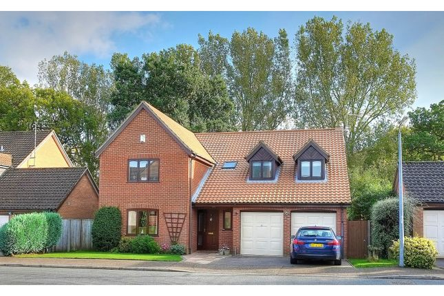 Thumbnail Detached house for sale in Quebec Close, Norwich