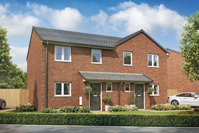 "Thumbnail Semi-detached house for sale in ""The Westhorpe A"" at High Street, Riddings, Alfreton"