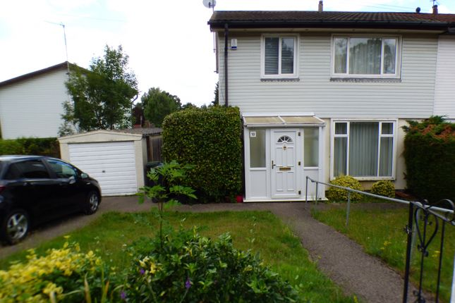 Thumbnail Semi-detached house for sale in Lindal Crescent, Enfield