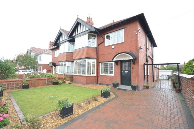 Thumbnail Semi-detached house for sale in Rowsley Road, St Annes, Lytham St Annes, Lancashire