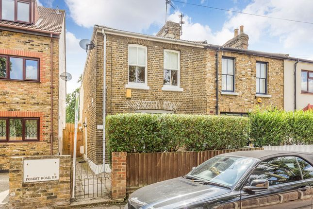 Thumbnail End terrace house for sale in Forest Road, Upper Leytonstone