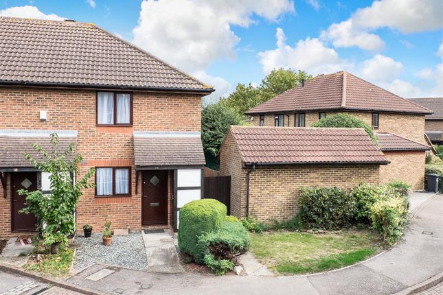 Thumbnail End terrace house for sale in Morgan Drive, Greenhithe