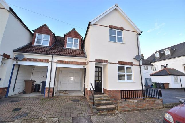 Thumbnail Semi-detached house to rent in Lymington Road, Stevenage, Herts