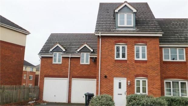 Thumbnail Semi-detached house to rent in King Street, Darlaston, Wednesbury