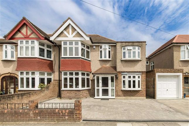 Thumbnail Semi-detached house for sale in Montrose Avenue, Whitton, Twickenham