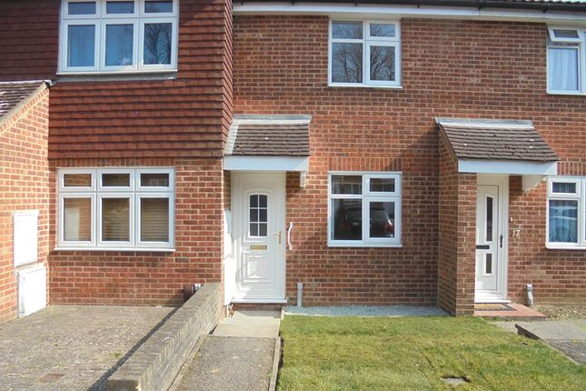Thumbnail Terraced house to rent in Woodlea, Ashford Kent