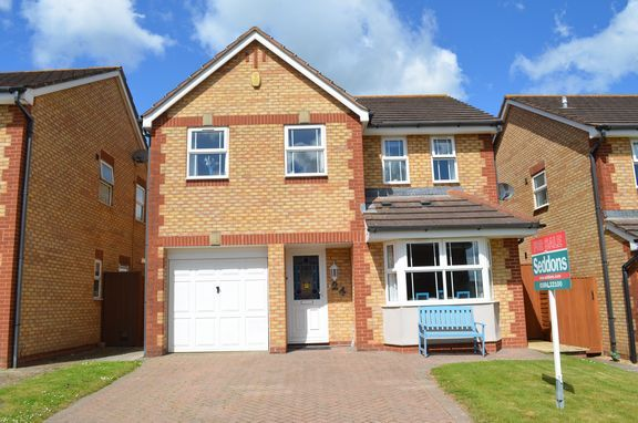 Thumbnail Detached house for sale in Nightingale Lawns, Cullompton