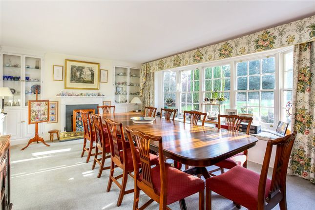Dining Room of Lower Common, Eversley, Hook, Hampshire RG27