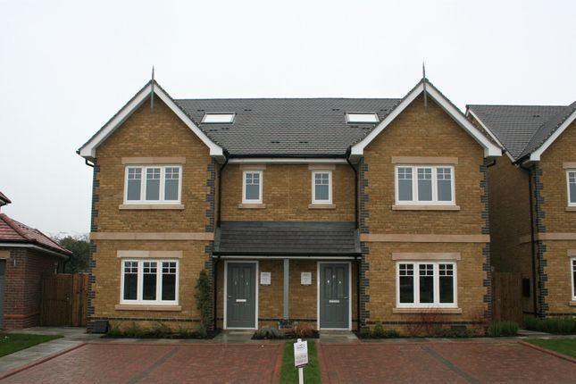 Thumbnail Semi-detached house for sale in Plot 22, Compass Fields, Bucks Avenue, Watford