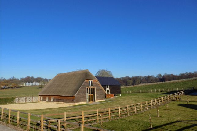 Thumbnail Barn conversion for sale in Manor Barns, Hazeley Road, Twyford, Hampshire