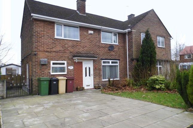 Thumbnail Semi-detached house for sale in Clough Avenue, Westhoughton, Bolton