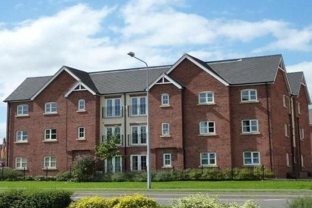 Thumbnail Flat to rent in Chamberlain Close, Uttoxeter