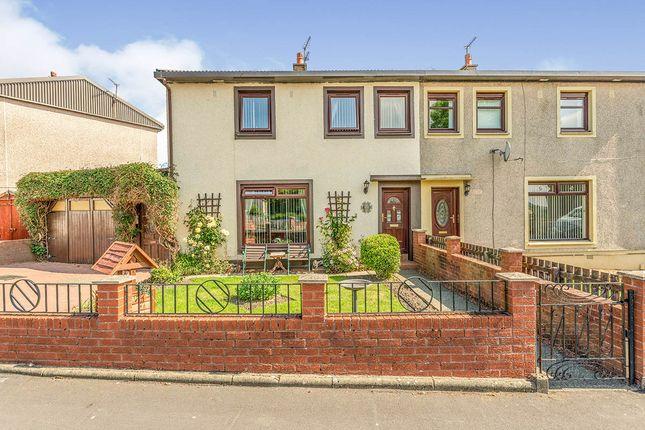 Thumbnail Semi-detached house for sale in Roughlands Drive, Carronshore, Falkirk, Stirlingshire
