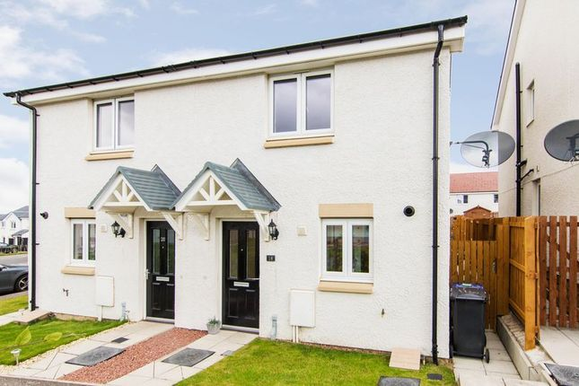 Thumbnail Semi-detached house for sale in 18 South Quarry Boulevard, Gorebridge, Midlothian