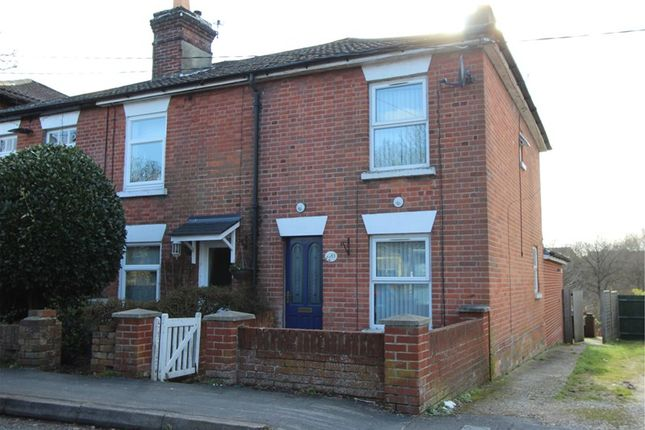 Thumbnail End terrace house for sale in Woolston Road, Netley Abbey, Southampton