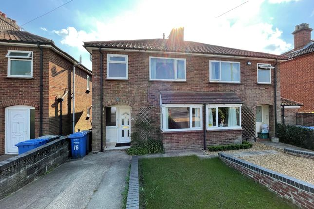 3 bed semi-detached house to rent in Aylsham Road, Norwich NR3