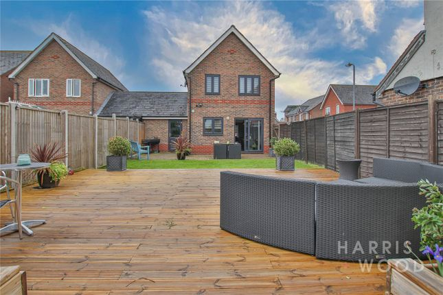 Thumbnail Detached house for sale in Threshers End, Stanway, Colchester