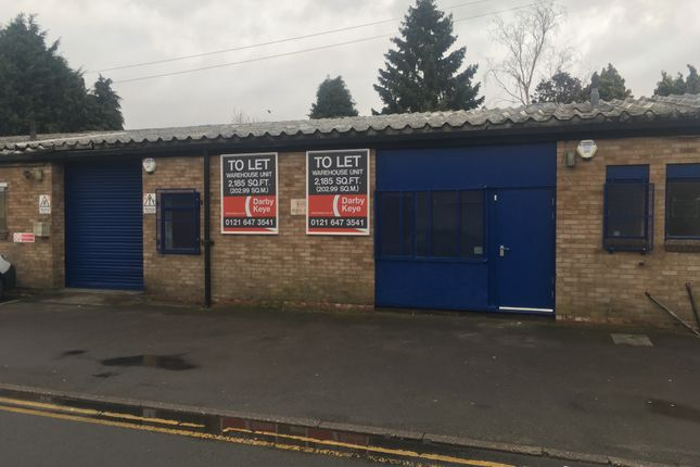 Industrial to let in Unit 3 Stratford Road, Shirley
