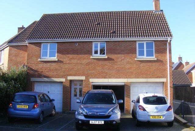 Thumbnail Flat to rent in Highgrove Walk, Weston Village, Weston-Super-Mare