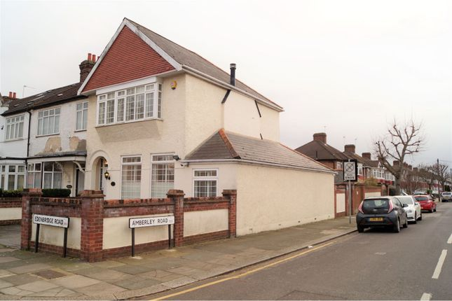 Thumbnail End terrace house for sale in Edenbridge Road, Enfield
