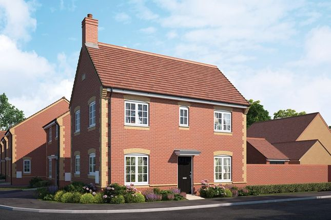 Thumbnail Detached house for sale in Cloverfield, Didcot