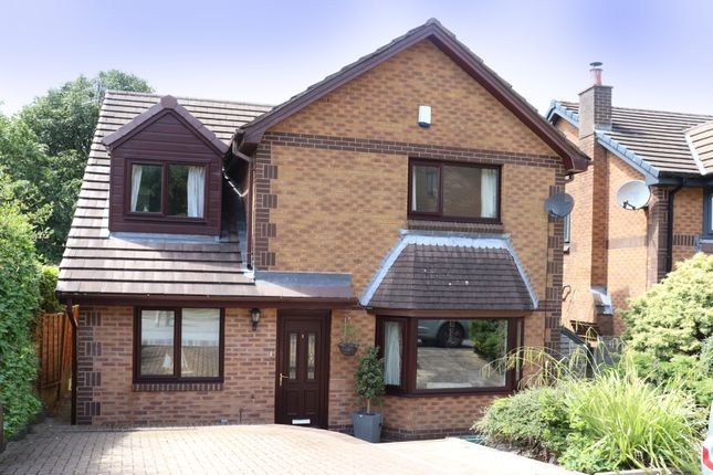Thumbnail Detached house for sale in Bagnall Close, Uppermill, Oldham