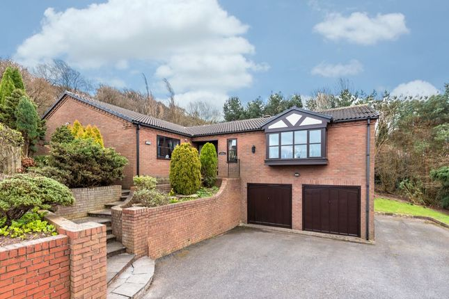 Thumbnail Bungalow for sale in Top Withen Lincoln Road, Wrockwardine Wood, Telford