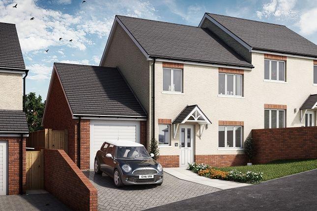 Thumbnail Semi-detached house for sale in Cedar, Plot 17 Waunsterw, Rhydyfro, Pontardawe.