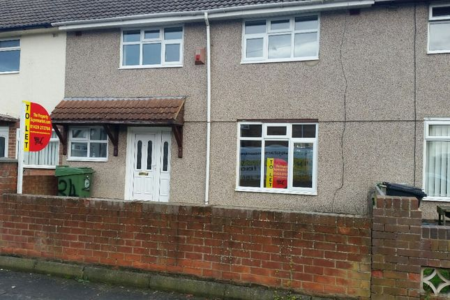 Thumbnail Terraced house to rent in Monkton Road, Hartlepool