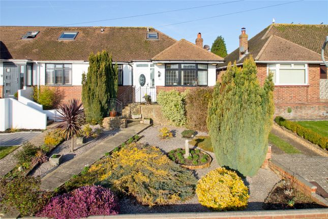Thumbnail Semi-detached bungalow for sale in Stoneleigh Avenue, Brighton, East Sussex