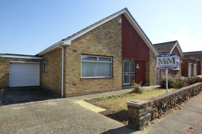 Thumbnail Detached bungalow to rent in Cambria Crescent, Gravesend