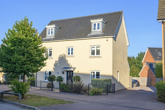Thumbnail Detached house for sale in Little Canfield, Dunmow, Essex