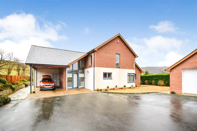 Thumbnail Detached house for sale in Garth Road, Machynlleth, Powys