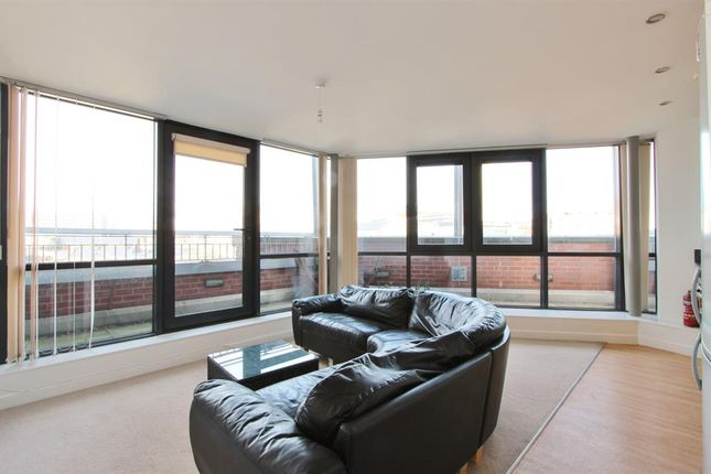 Thumbnail 1 bed flat to rent in The Cube, Shoreham Street, Sheffield