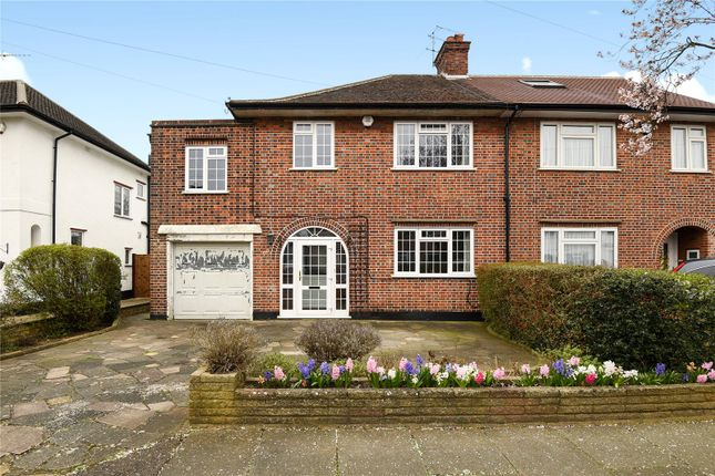 Thumbnail Semi-detached house for sale in Boundary Road, Pinner, Middlesex