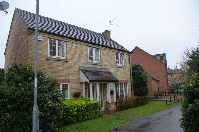 Thumbnail Detached house to rent in Honeymead Road, Wimblington, March