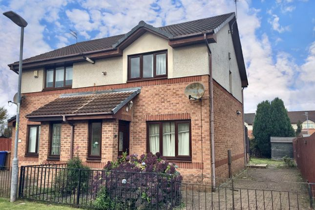 Thumbnail Semi-detached house for sale in 34 Jane Rae Gardens, Clydebank, West Dunbartonshire