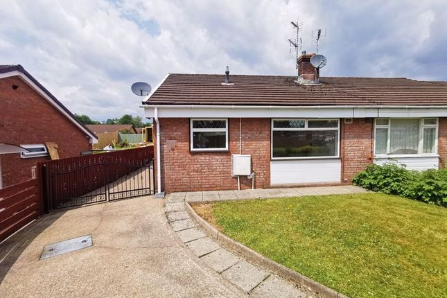 Thumbnail Semi-detached bungalow for sale in Maes Y Siglen, Caerphilly
