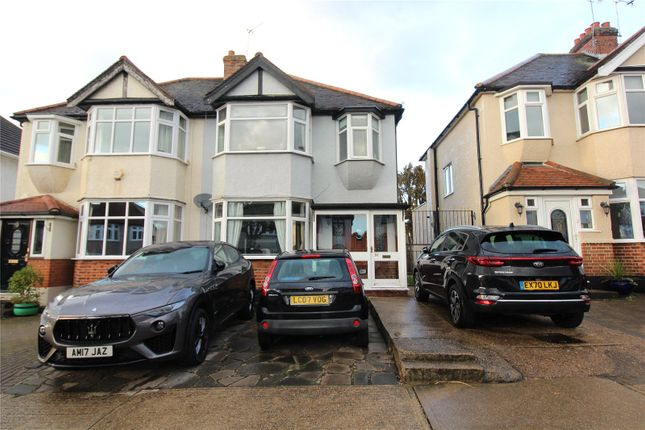 3 bed semi-detached house to rent in Carlton Road, Gidea Park RM2