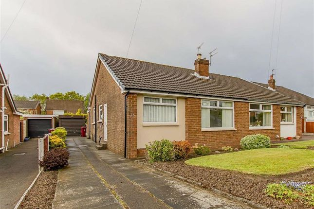 Thumbnail Semi-detached bungalow for sale in Livesey Hall Close, Blackburn