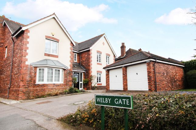 Thumbnail Detached house for sale in Welby Gate, Balsall Common, Coventry