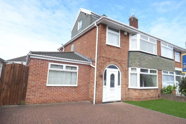Thumbnail Semi-detached house for sale in Deyes Lane, Maghull, Liverpool