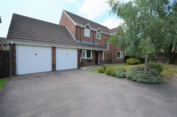 Thumbnail Detached house for sale in Camellia Close, Tiverton