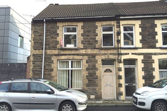 Thumbnail Flat to rent in Gilfach Street, Bargoed