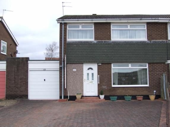 Thumbnail Semi-detached house for sale in Rowan Drive, Ponteland, Northumberland