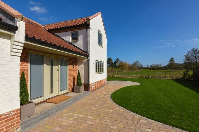 Thumbnail Detached house for sale in The Street, Saxlingham Nethergate, Norwich