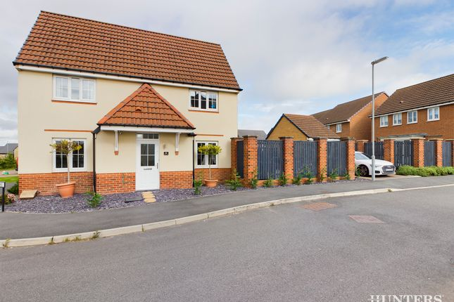 Thumbnail Detached house for sale in Abbotts Way, Consett, Durham