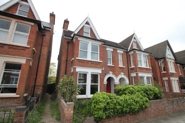 Thumbnail Semi-detached house to rent in St Michaels Road, Bedford