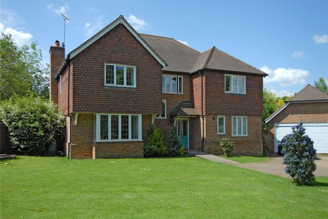 Thumbnail Detached house for sale in Willow Fields, Ash Green, Guildford, Surrey